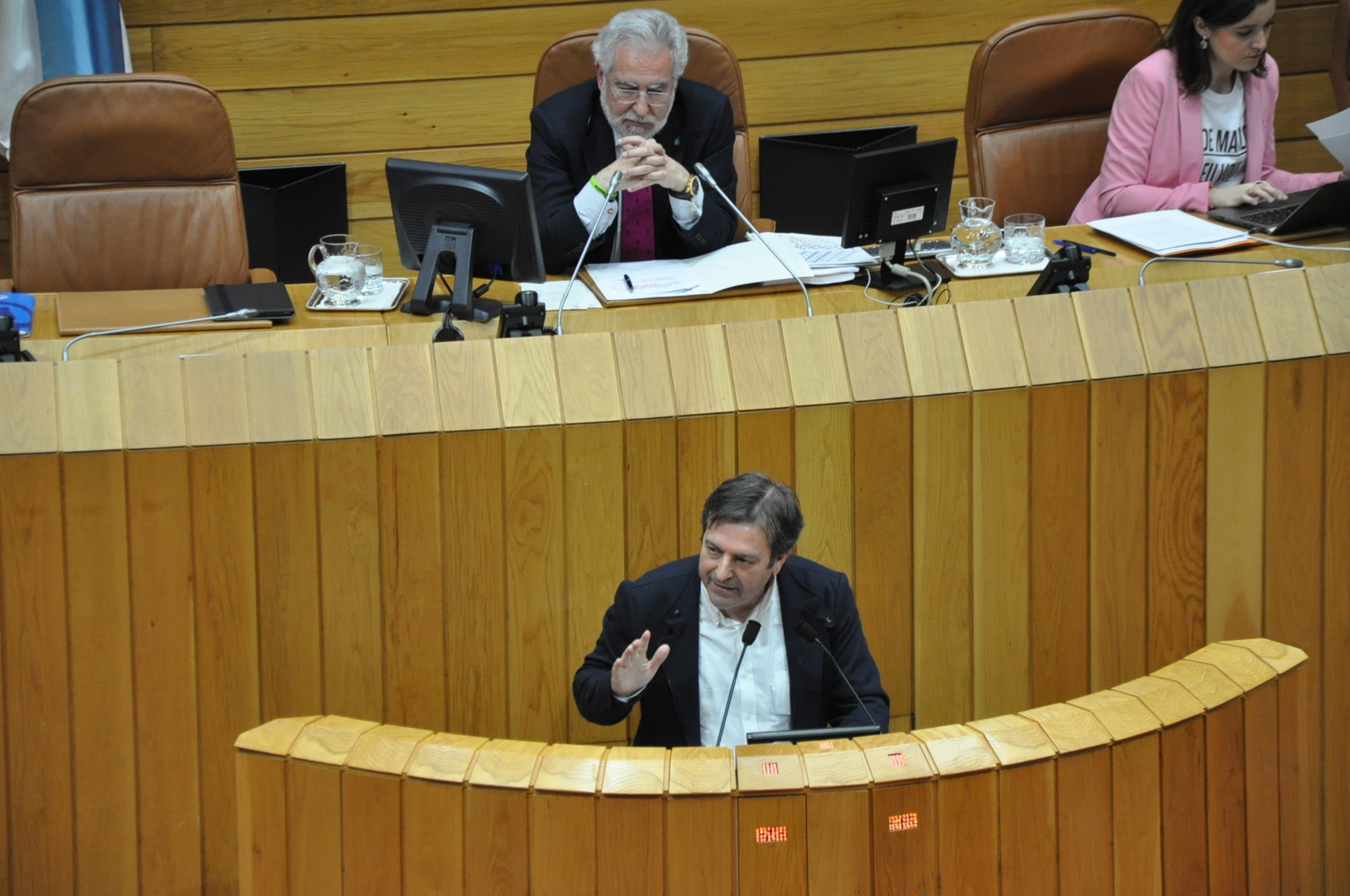 Luís Bará no Pleno do Parlamento